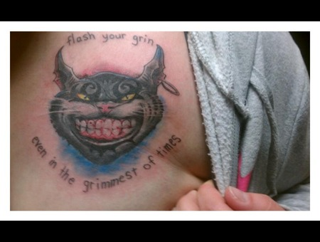 Cheshire Cat Alice Wonderland Color