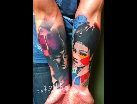 Portraits Of Women Color Forearm