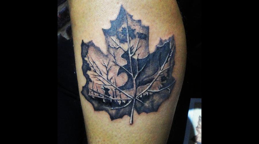 Skull Tattoos  Bird Tattoos  Angel Tattoos  Tattoos  Tattnroll  Tatt'n'roll Black Grey Lower Leg