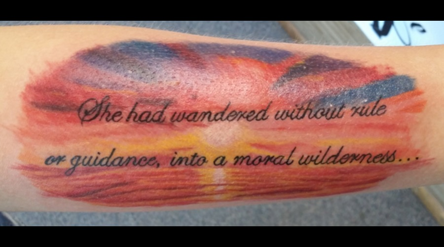 Sunset Color Forearm