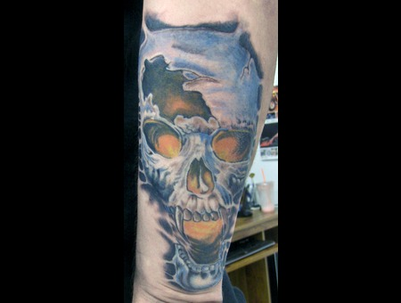 Skull Color Arm