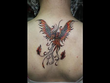 Phoenix  Rise Of The Phoenix Color Back