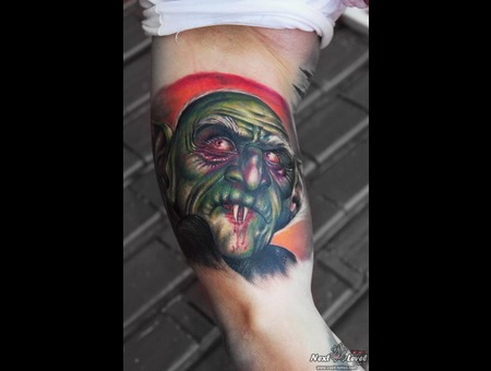 #Dracula #Tattoocolor #Nosferatum #Costi  Color Arm