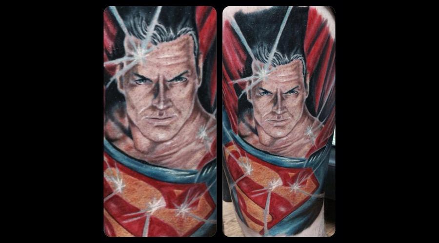 Superman  Dc Comics Thigh