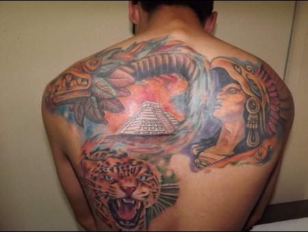 3 Sessions With This Aztec Designs  Color Back