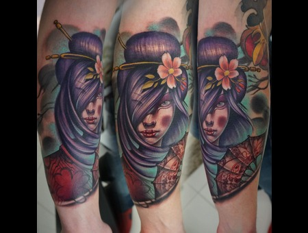 Geisha Color Color Arm