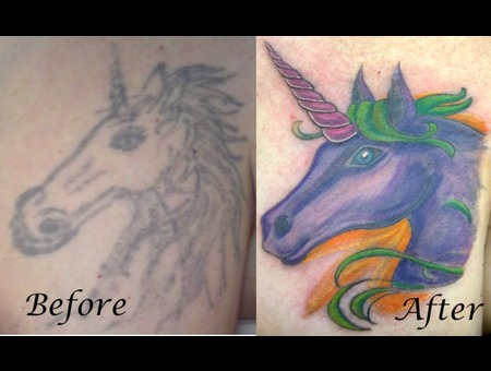 Unicorn Cover Up Color Chest