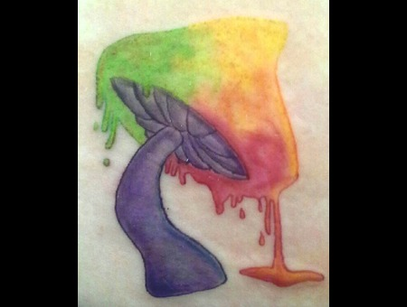Mushroom Color Arm