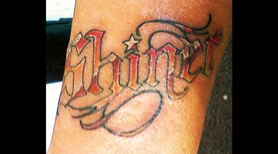 Lettering Color Forearm