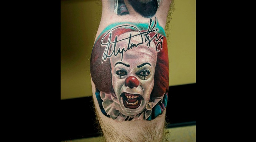 Pennywise Color Lower Leg
