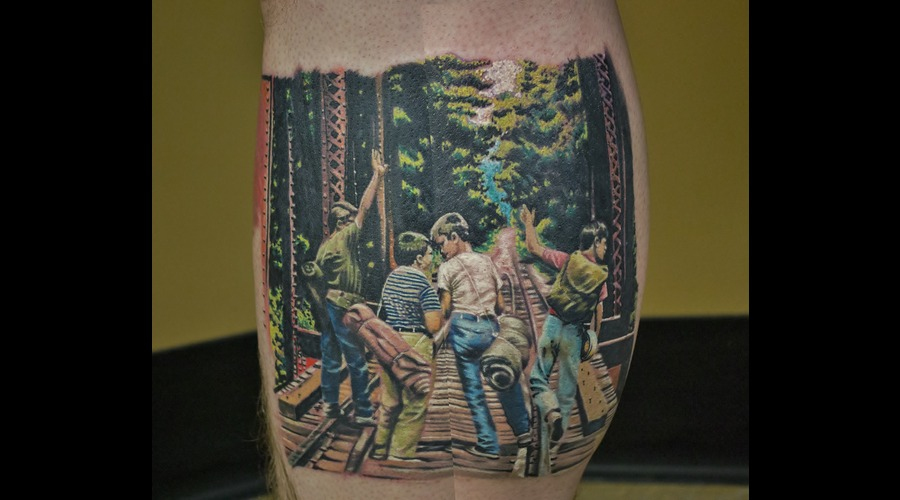 Stand By Me  Movie Scene  Stephen King Color Lower Leg