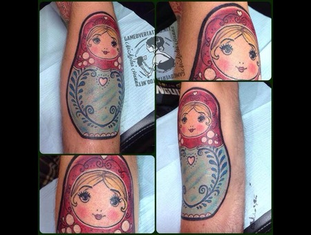 Nesting Doll  Doll  Family Color Forearm