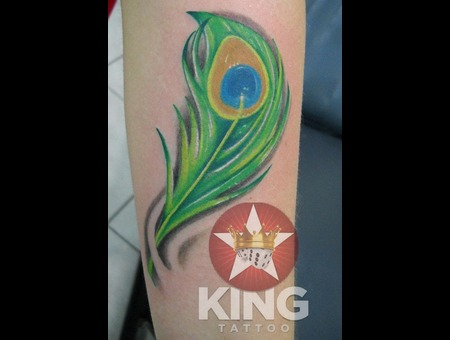 Peacock Tattoo  Color Tattoo Color