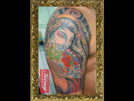 Oriental Tattoo  Color Tattoo Color