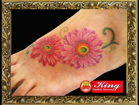 Color Tattoo  Flower Tattoo  Portrait Tattoo Color