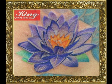 Flower Tattoo  Color Tattoo  Portrait Tattoo Color