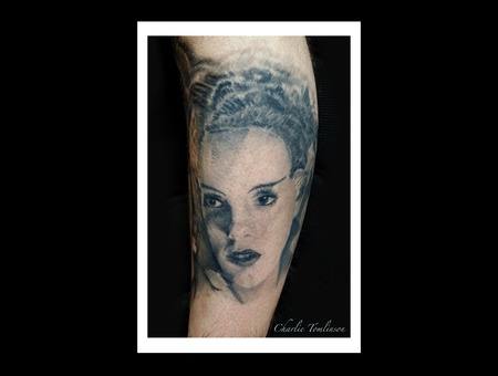 Horror Movie Film Portrait Black Grey Arm