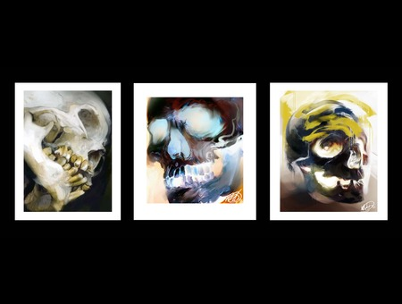 Skull Skulls Painting Art Color