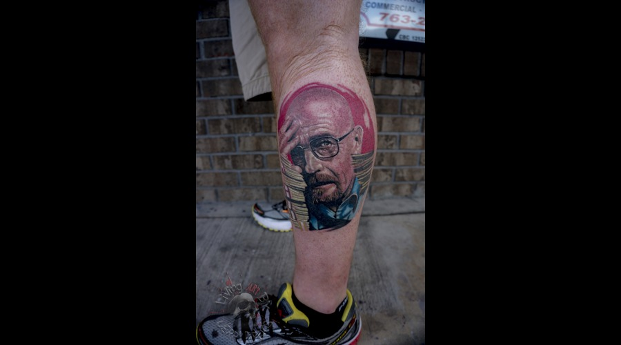 Walter White  Breaking Bad  Portrait Color Lower Leg