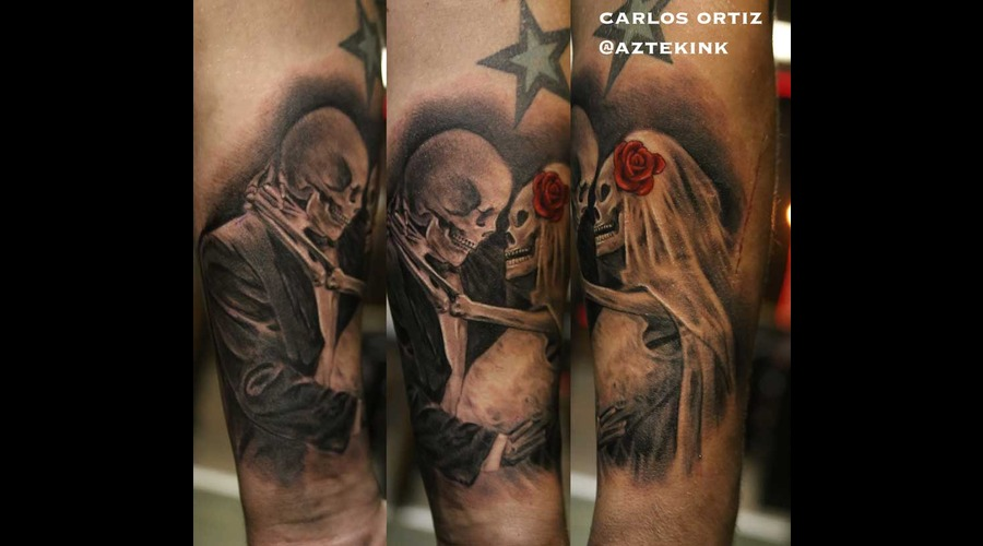 Black And Grey  Portrait  Realism  Realistic  Fine Line  Skull