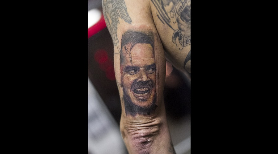 Horror  Jack Nicholson  Color Portrait Color Arm