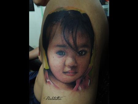 Portrait  Little Girl Color