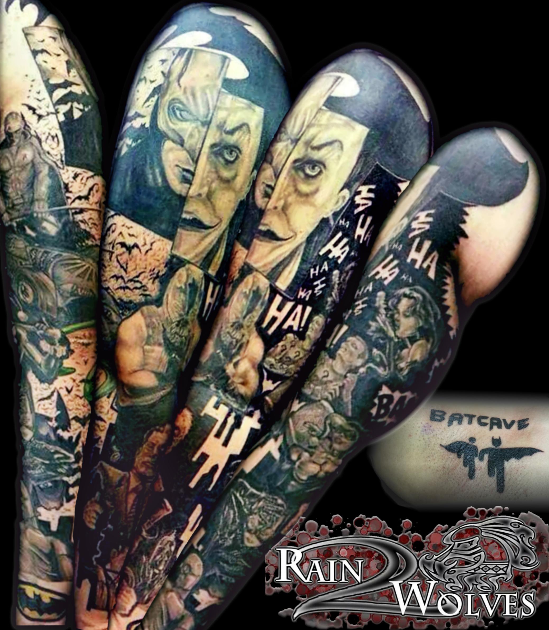 Harley Quinn Tattoo Sleeve Best Tattoo Ideas
