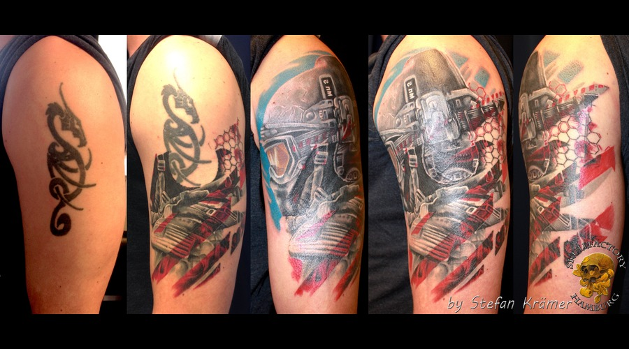 Cover Up Soldier Color Arm