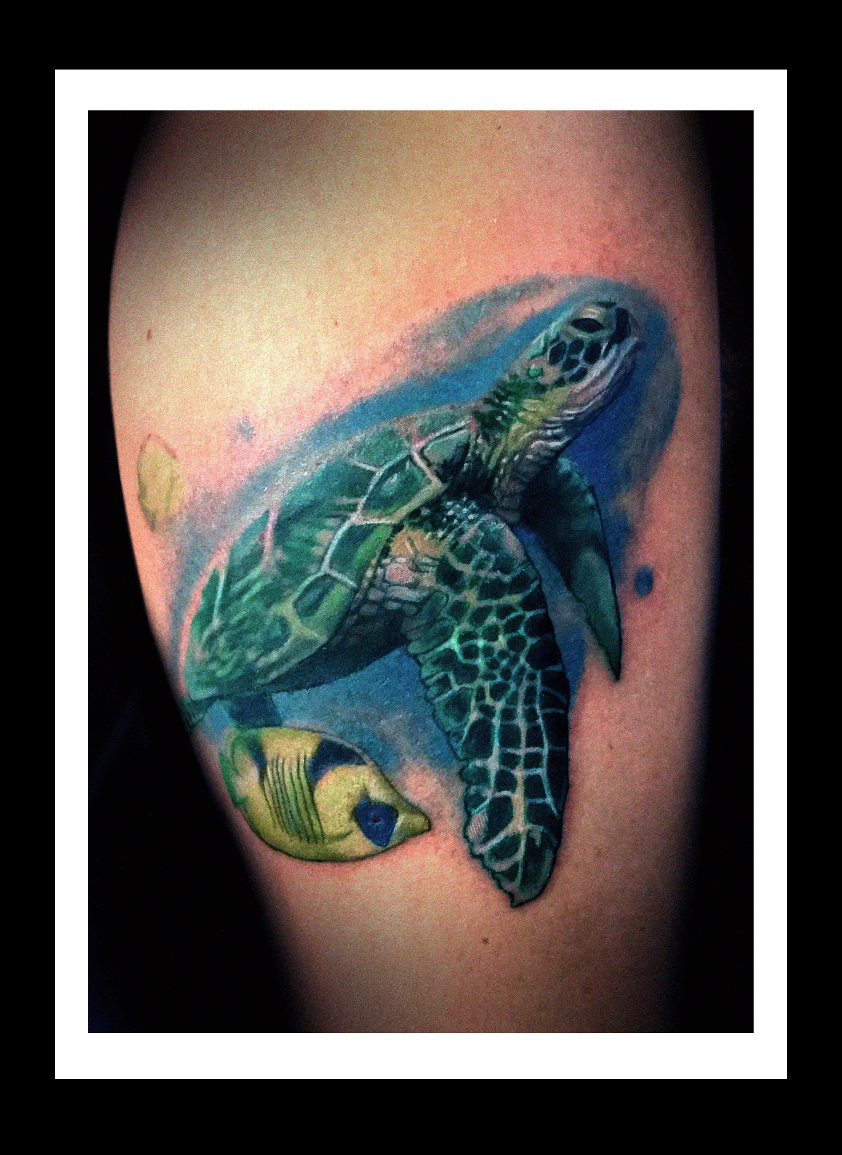 Charles maurice tomlinson certified artist for Inflictions tattoo covina ca