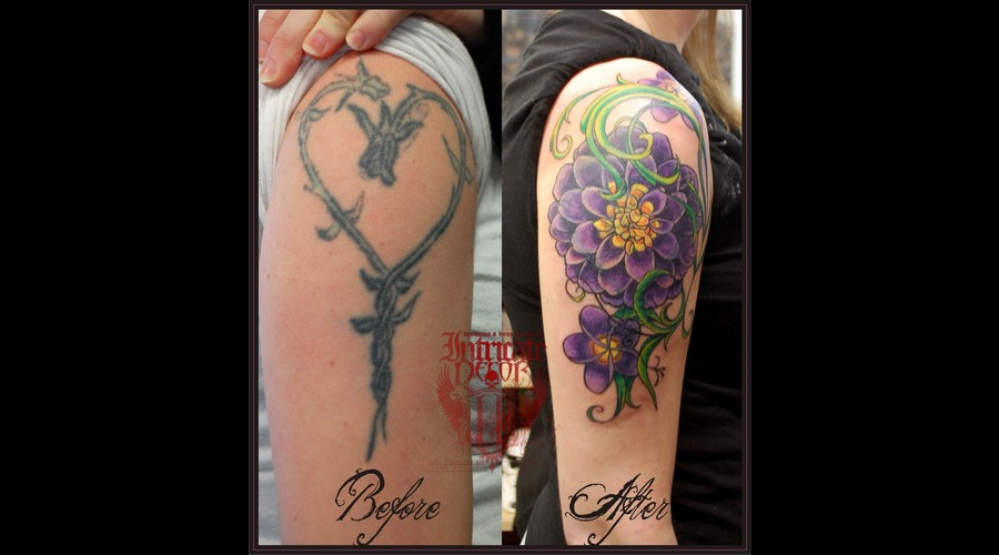 Flower Coverup Color Arm