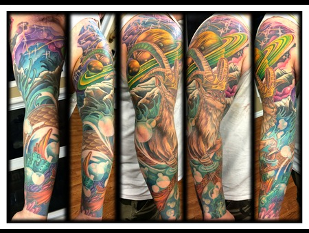 Sleeve  Color  Capricorn Arm