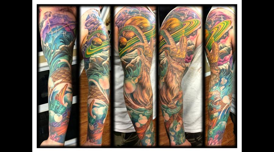 Sleeve  Color  Capricorn Arm