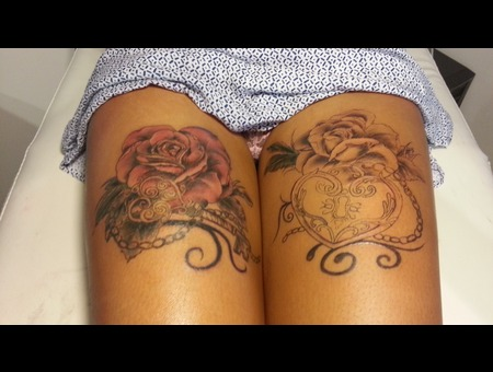 Rose  Key Thigh
