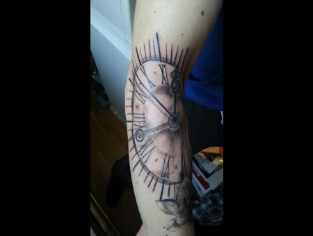 Clock Forearm