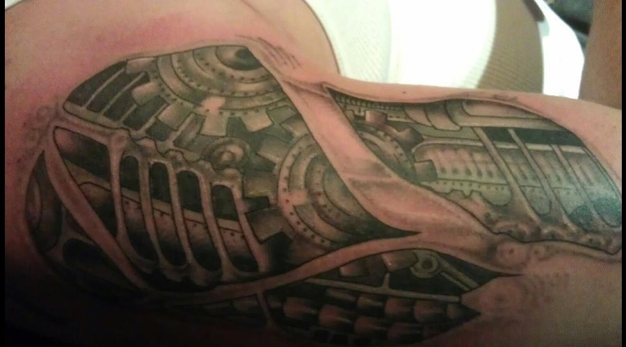 Biomechanic Freehand Arm