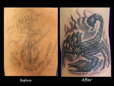 Cover Up  Scorpion Arm