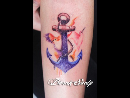 Anchor Watercolor Arm
