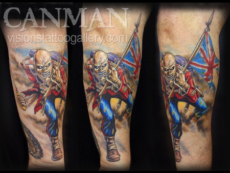 Iron Maiden Color