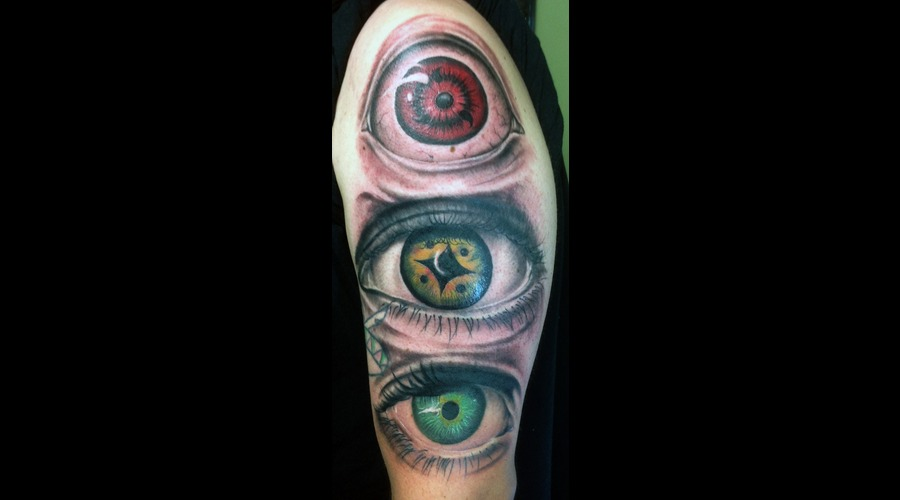 Eyes Eyeball Pupils Realism Arm