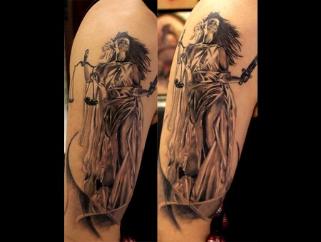 Lady Justice Arm