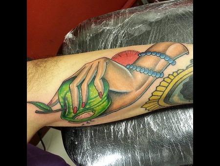 Apple Hand  Arm