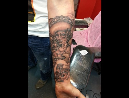 Mexican Woman  Arm