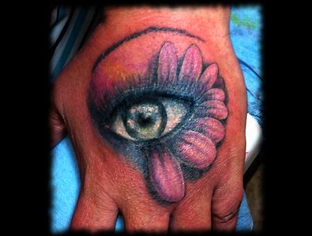 Hand  Eye  Eye Flower  Floral