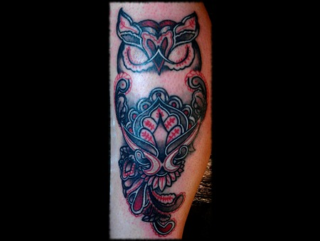 Owl  Traditional Lower Leg