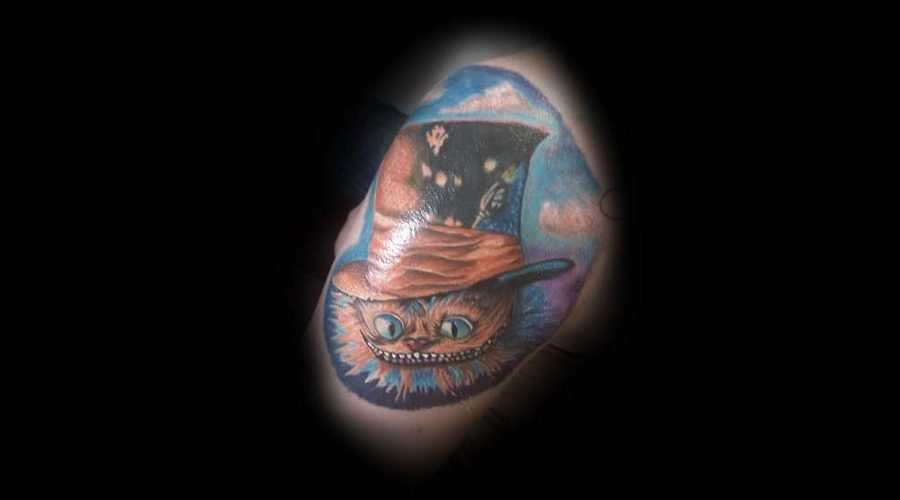 Cheshire Cat  Color  Alice In Wonderland Arm