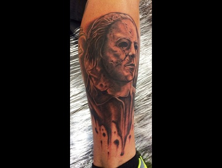 Halloween Michael Meyers Lower Leg