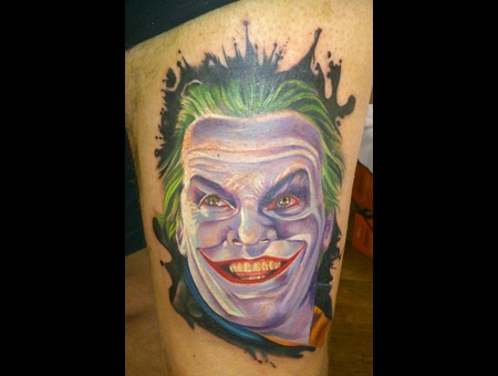 Portrait/Movies Joker Jack Nicholson Batman Villain