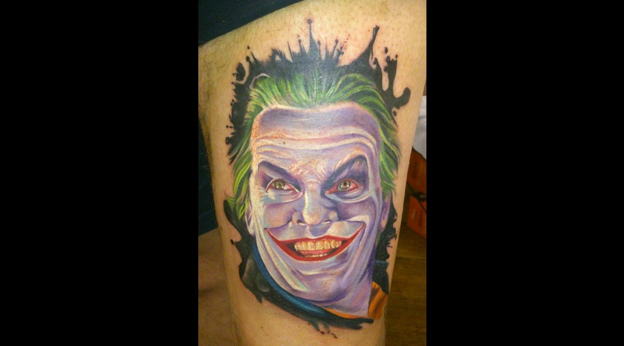 Portrait/Movies Joker Jack Nicholson Batman Villain