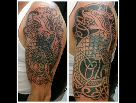 Celtic Cover Up Arm