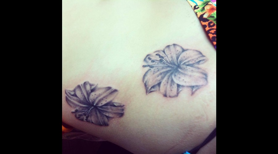 Flower  Lilly  Realism  Soft  Ribs Ribs